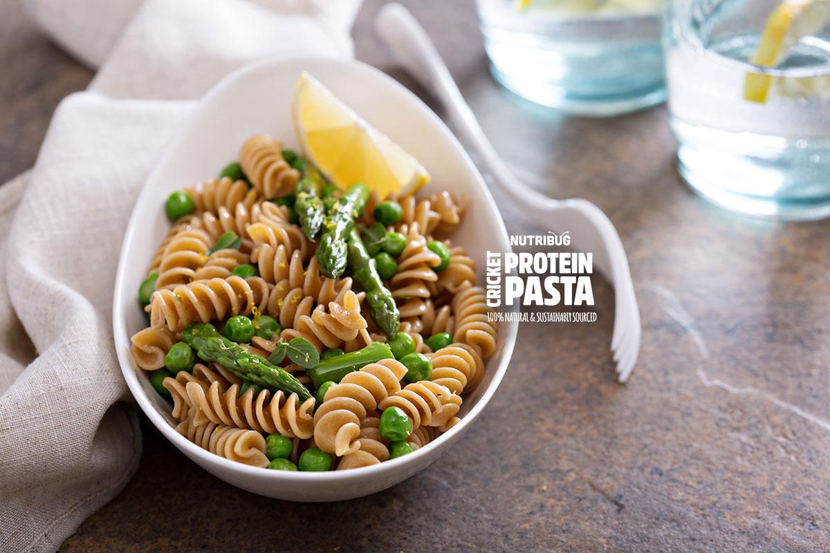 Cricket Protein Pasta