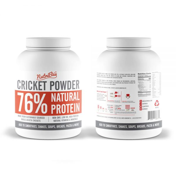 high protein cricket powder
